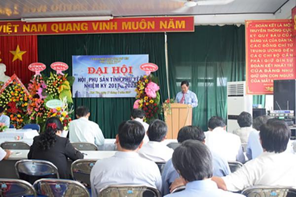 BS. Nguyễn Anh Tuấn – Chủ tịch Hội phát biểu tại Đại hội