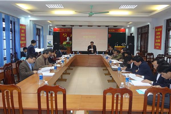 Ông Trần Bảo Toàn, Chủ tịch Liên hiệp Hội, phát biểu khai mạc Hội thảo