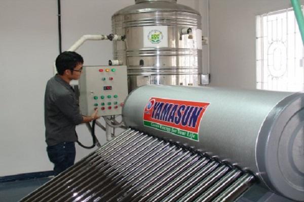 Đẩy mạnh ứng dụng máy nước nóng năng lượng mặt trời