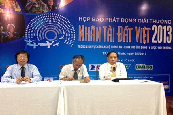 Họp báo phát động Giải thưởng Nhân tài Đất Việt 2013 tại TPHCM