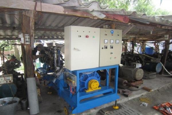 Bệ thử công suất cho động cơ biogas hiệu suất cao