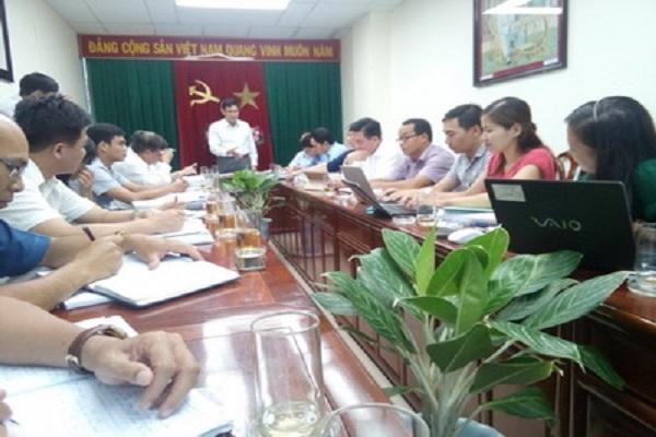 Quang cảnh buổi họp Hội đồng thẩm định