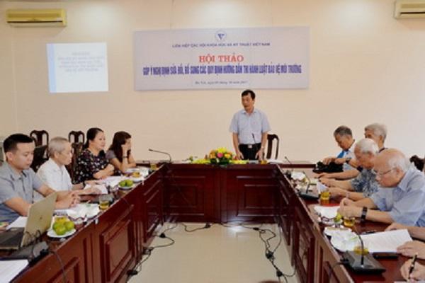 Ông Phan Tùng Mậu – Phó Chủ tịch LHHVN phát biểu khai mạc