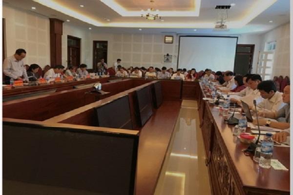 Đoàn Giám sát làm việc với UBND và các Sở Ban ngành tại Gia Lai
