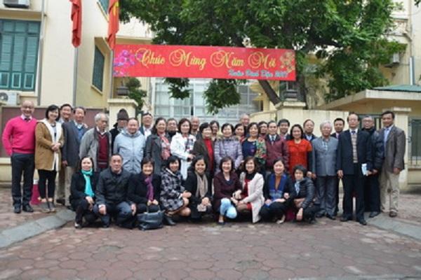 Liên hiệp Hội Việt Nam gặp mặt, chúc Tết các cán bộ hưu trí
