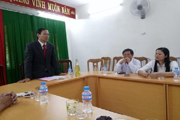 Th.S Nguyễn Hoài Sơn – Chủ tịch Liên hiệp Hội Phú Yên chúc Tết CB-CNVC đầu năm mới 2017.