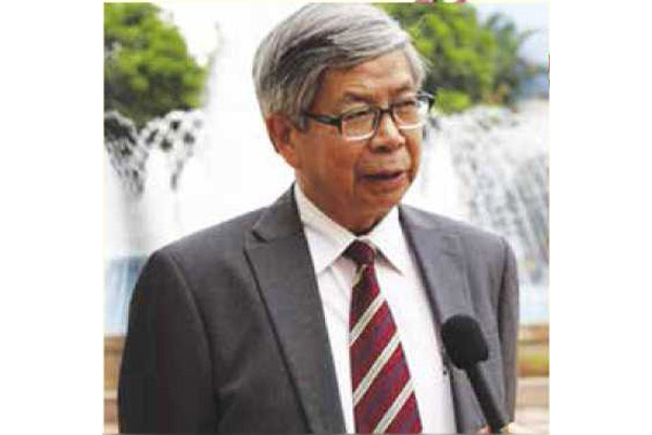 GS.TSKH. Đặng Vũ Minh, Chủ tịch Liên hiệp Hội Việt Nam. Ảnh: TL