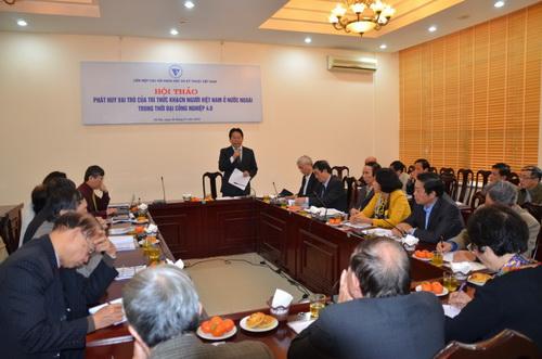 Phát huy vai trò của trí thức người Việt Nam ở nước ngoài
