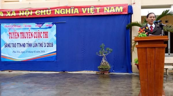 Phú Yên: Tuyên truyền Cuộc thi Sáng tạo Thanh, Thiếu niên và Nhi đồng tỉnh lần thứ 3 (2017-2018) tại huyện Sơn Hòa
