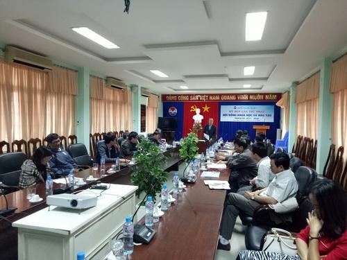 Quang cảnh đề cử Hội đồng khoa học trường Đại học Phú Yên