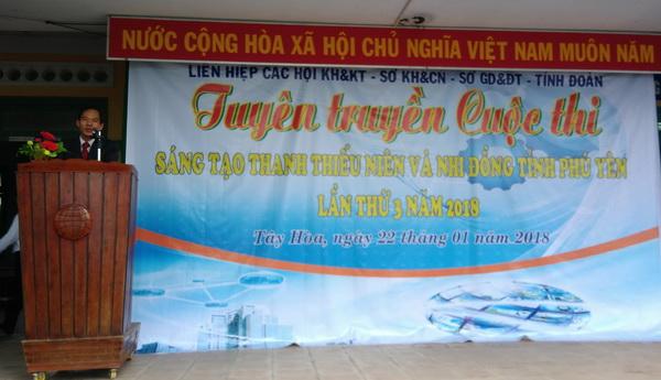 Phú Yên: Tuyên truyền Cuộc thi Sáng tạo Thanh, Thiếu niên và Nhi đồng tỉnh lần thứ 3 (2017-2018) tại huyện Tây Hòa