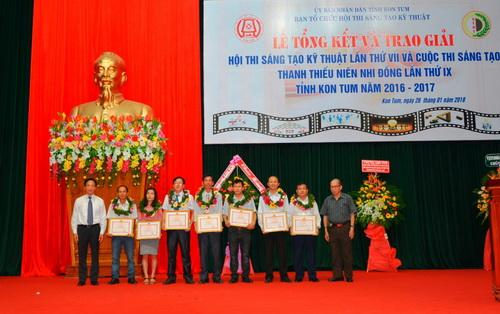 Kon Tum: Tổng kết và trao giải Hội thi, Cuộc thi năm 2016 - 2017