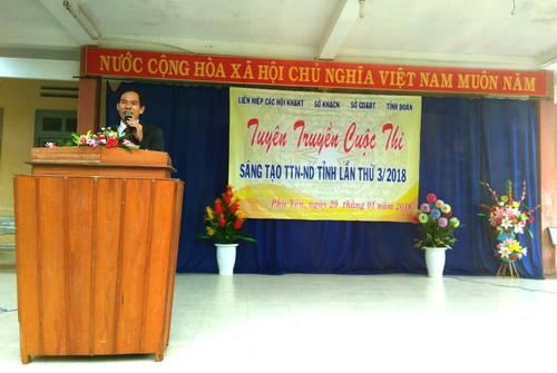 Phú Yên: Tuyên truyền Cuộc thi Sáng tạo Thanh, Thiếu niên và Nhi đồng tỉnh lần thứ 3 (2017-2018) tại huyện Sông Hinh
