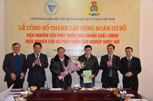 Công đoàn Liên hiệp Hội Việt Nam thành lập 2 công đoàn cơ sở