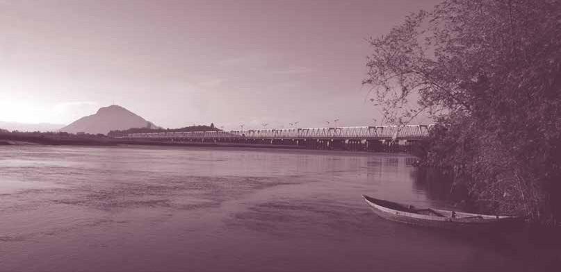 Những cây cầu bắc qua sông Đà Rằng