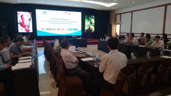 Phú Yên tổ chức Hội thảo tham vấn Kế hoạch hành động thực hiện các mục tiêu phát triển Phú Yên đến năm 2030