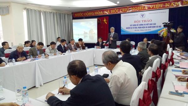 Liên hiệp Hội Việt Nam phối hợp LHH Bắc Kạn tổ chức Hội thảo
