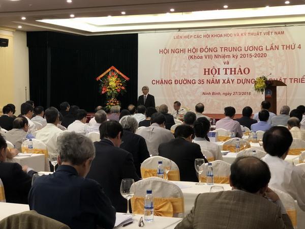 GS.TSKH Đặng Vũ Minh – Chủ tịch Liên hiệp Hội Việt Nam