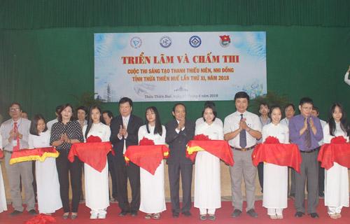 Thừa Thiên Huế: Khai mạc triển lãm Cuộc thi Sáng tạo Thanh thiếu niên, Nhi đồng