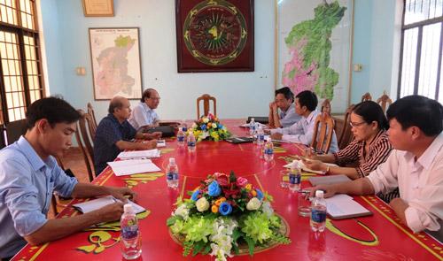 Kon Tum: Ban tổ chức Hội thi STKT làm việc với các địa phương