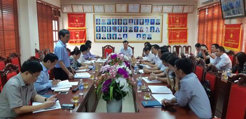 TS. Phan Tùng Mậu, Phó Chủ tịch Liên hiệp các Hội K&KT Việt Nam, Phó ban Chỉ đạo tổng Nghị quyết phát biểu tại buổi làm việc
