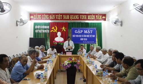 Tổ chức gặp mặt kỷ niệm ngày Khoa học và Công nghệ Việt Nam năm 2018