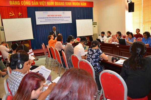 Việt Nam là nước có tỷ lệ thiếu i-ốt ở mức trầm trọng