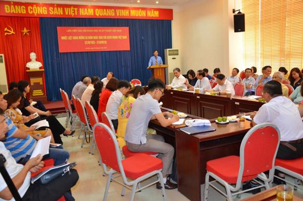 Liên hiệp hội Việt Nam chào mừng ngày Báo chí Cách mạng Việt Nam