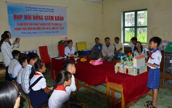 Vĩnh Long: 47 tác giả tham gia cuộc thi Sáng tạo Thanh thiếu niên Nhi đồng cấp tỉnh lần thứ VII