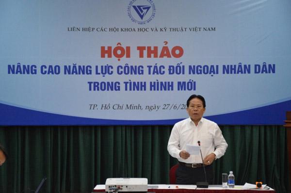 Tăng cường công tác đối ngoại nhân dân trong tình hình mới