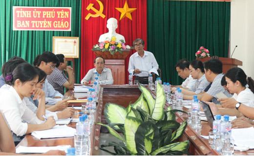 Hội nghị giao ban báo chí tháng 6
