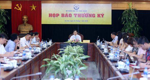 Bộ KH&CN giải đáp nhiều vấn đề báo chí, dư luận quan tâm