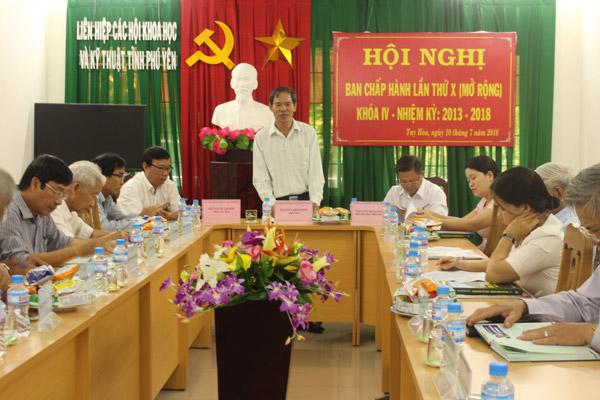 Phú Yên: Tiếp tục củng cố tổ chức Hội và chuẩn bị Đại hội Liên hiệp Hội khóa V