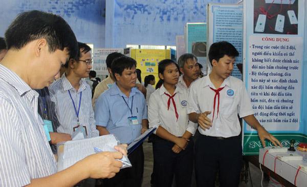 Nhân rộng hoạt động nghiên cứu khoa học trong trường học