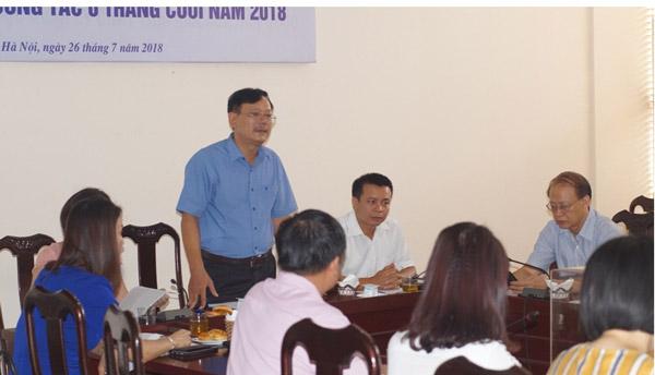 Công đoàn Liên hiệp Hội Việt Nam tổng kết hoạt động 6 tháng đầu năm