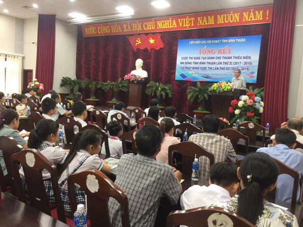 Bình Thuận: 44 mô hình sản phẩm đạt giải Cuộc thi