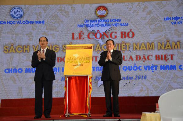 Công bố Sách vàng Sáng tạo Việt Nam 2018