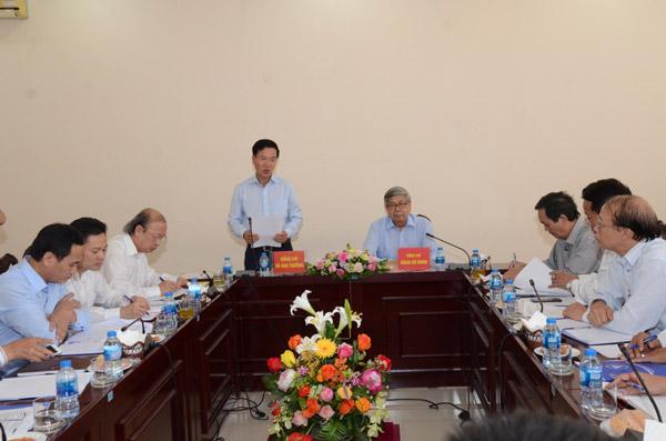 Ban Tuyên giáo Trung ương làm việc với Đảng đoàn Liên hiệp các Hội KH&KT Việt Nam