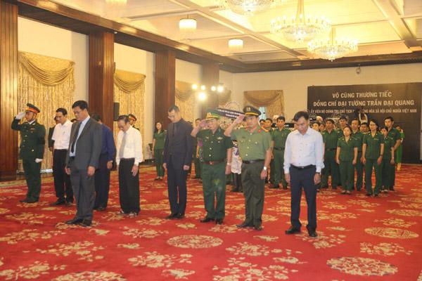 Đoàn đại biểu tỉnh Phú Yên viếng Chủ tịch nước Trần Đại Quang