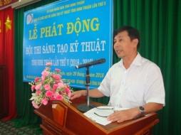 Ninh Thuận: Phát động Hội thi sáng tạo kỹ thuật lần thứ V