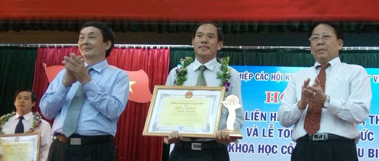 Nguyễn Hoài Sơn - người để lại dấu ấn cho Liên hiệp Hội Phú Yên
