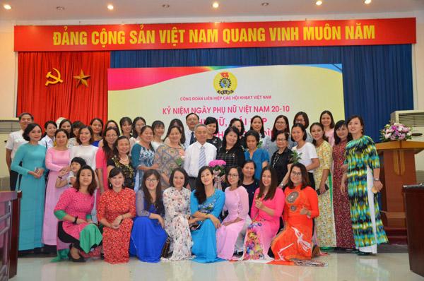 Phụ nữ Liên hiệp Hội Việt Nam vì mục tiêu phát huy cái đẹp