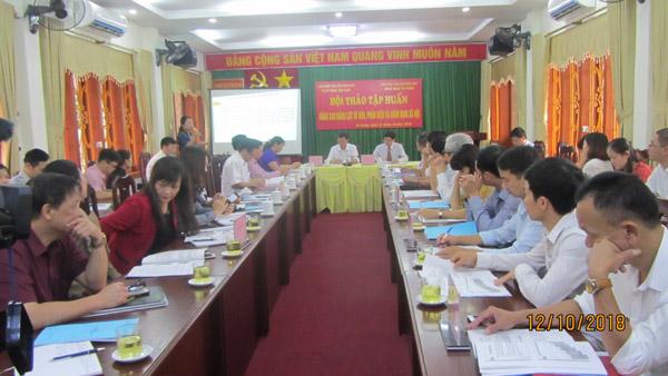 Hà Giang: Đẩy mạnh hoạt động tư vấn phản biện và giám định xã hội