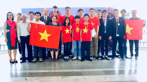 Việt Nam đạt giải Vàng tại Triển lãm Sáng tạo trẻ quốc tế 2018