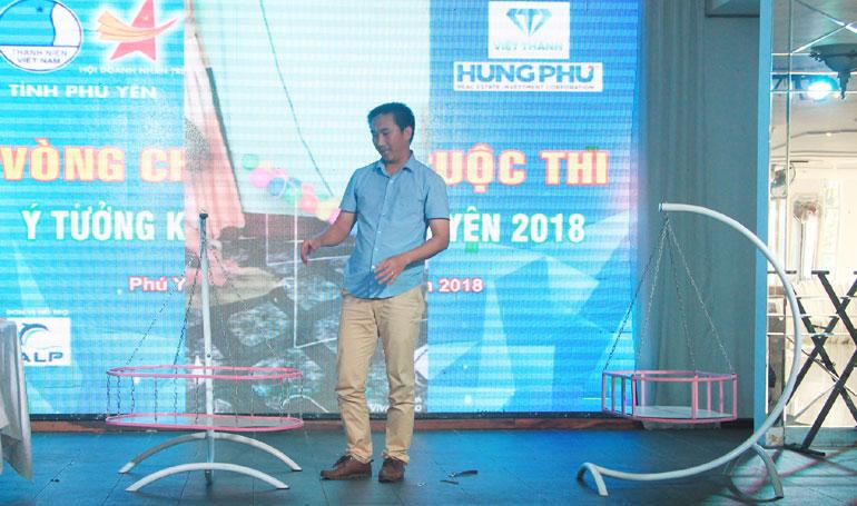 Dự án iNut Platform đạt giải nhất cuộc thi Ý tưởng khởi nghiệp Phú Yên năm 2018