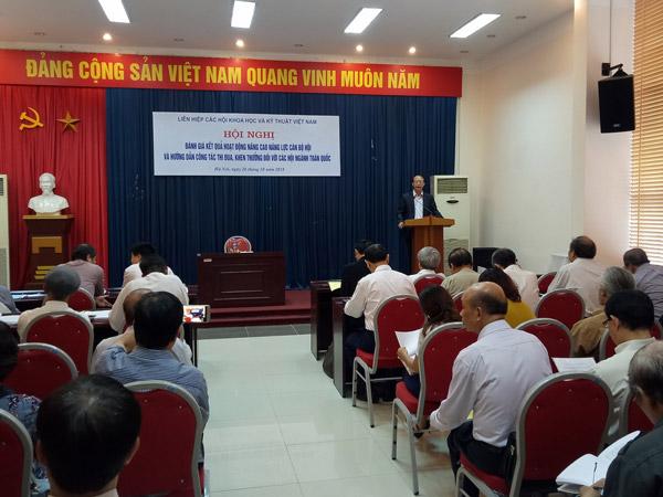 Hội nghị Đánh giá kết quả hoạt động nâng cao năng lực cán bộ hội