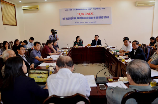 Giải pháp nâng cao vai trò của báo chí Liên hiệp Hội Việt Nam
