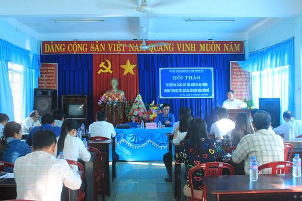 Phú Yên: Hội thảo về xây dựng Nông thôn mới