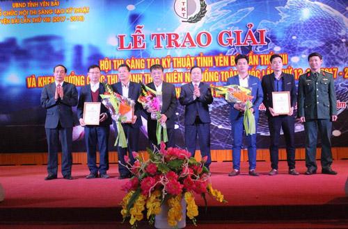 Yên Bái: Tổ chức trao giải Hội thi Sáng tạo kỹ thuật tỉnh lần thứ VIII