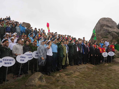 Chào cờ đầu năm mới 2019 ở Mũi Điện – nơi đón ánh bình minh đầu tiên trên đất liền Việt Nam